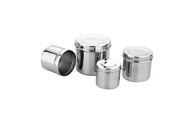 JS-BXG106 Stainless Steel Ointment Pot